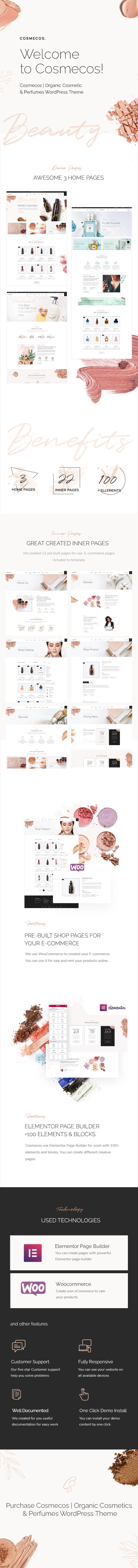 Cosmecos | Cosmetics & Perfumes WordPress Theme - 2