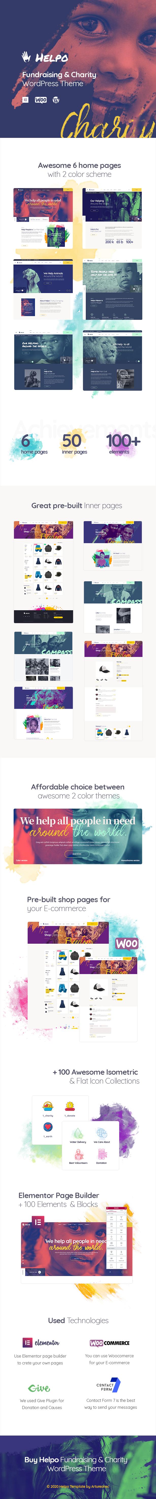 Helpo | Fundraising & Charity WordPress Theme - 2