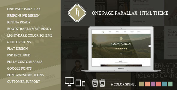 Qugo - One Page Multi Purpose Modern HTML Template - 7
