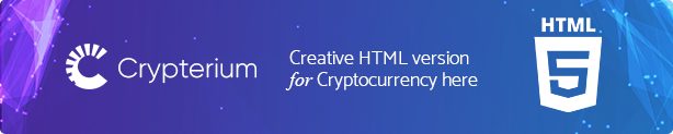 Crypterium - Bitcoin Blockchain WordPress Theme - 3